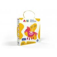 Набор для творчества ARTI Г000672 Глиняная лошадка Лизетта
