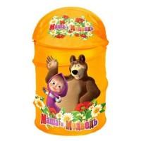 """Корзина для игрушек """"Маша и Медведь"""", ИГРАЕМ ВМЕСТЕ"""
