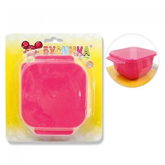 Тарелка-контейнер БУСИНКА для детского питания