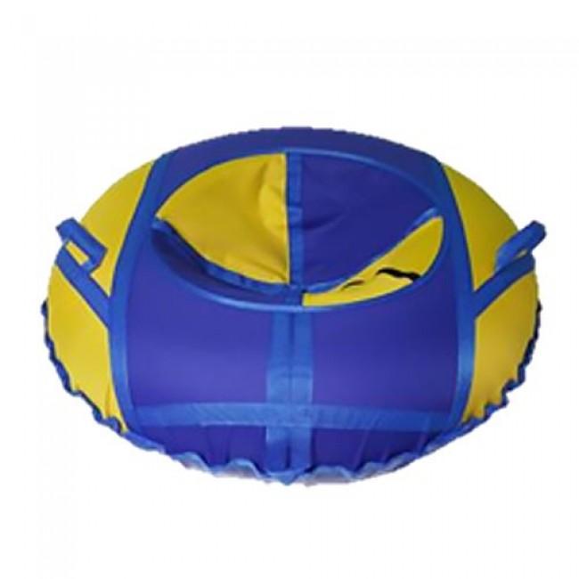 Санки-ватрушки ЕДУ-ЕДУ надувные, с камерой НСПВ-100, диаметр 100 см, цвета в ассортименте