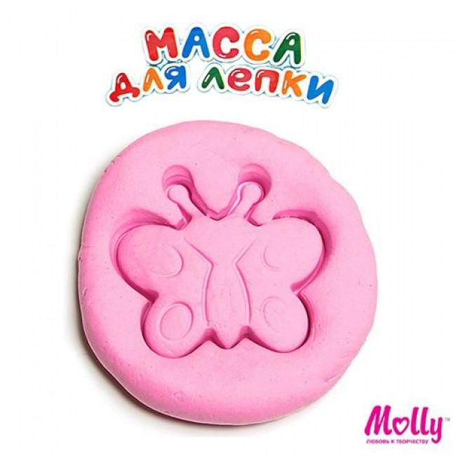 """Набор для детского творчества """"Масса для лепки"""", цвет розовый, 15 грамм, MOLLY"""
