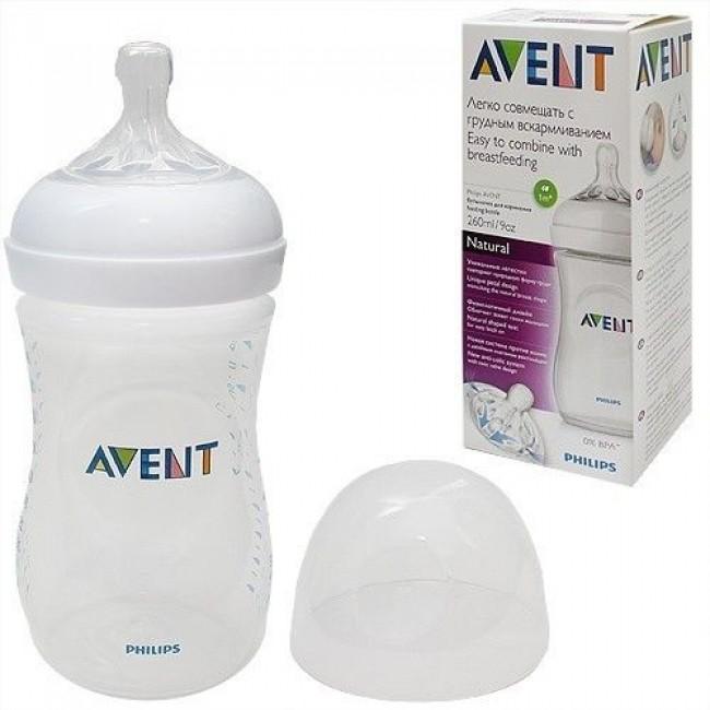 Бутылочка для кормления AVENT Natural  PP, 260 мл