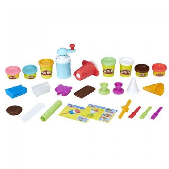 """Набор для детского творчества """"Создай любимое мороженое Play-Doh"""", HASBRO"""