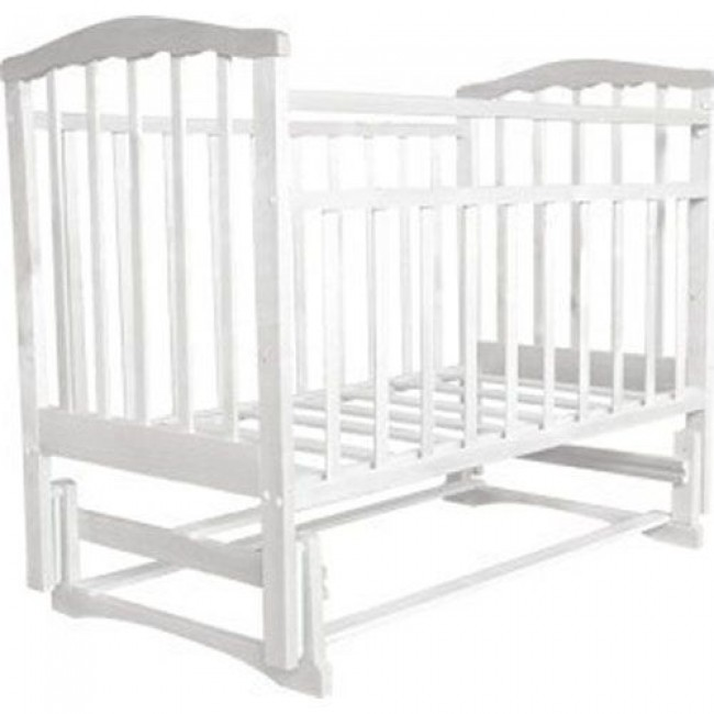 """Кроватка детская ЗОЛУШКА """"Золушка-3"""" 120*60 классическая, маятник поперечный"""