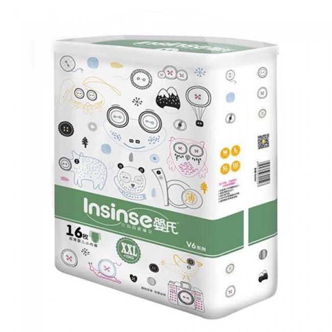 Подгузники-трусики INSINSE 15+ кг XXL, зеленые, 16шт