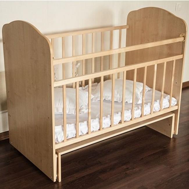 """Кроватка детская ЗОЛУШКА """"Золушка-10"""" 120*60 классическая, маятник поперечный"""