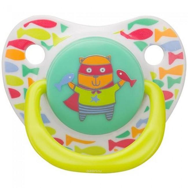 Пустышка HAPPY BABY ортодонтической формы BABY SOOTHER