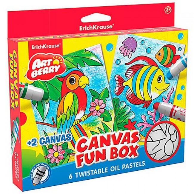 "Набор д/детского творч-ва ""Canvas Fun box"", ERICH KRAUSE"
