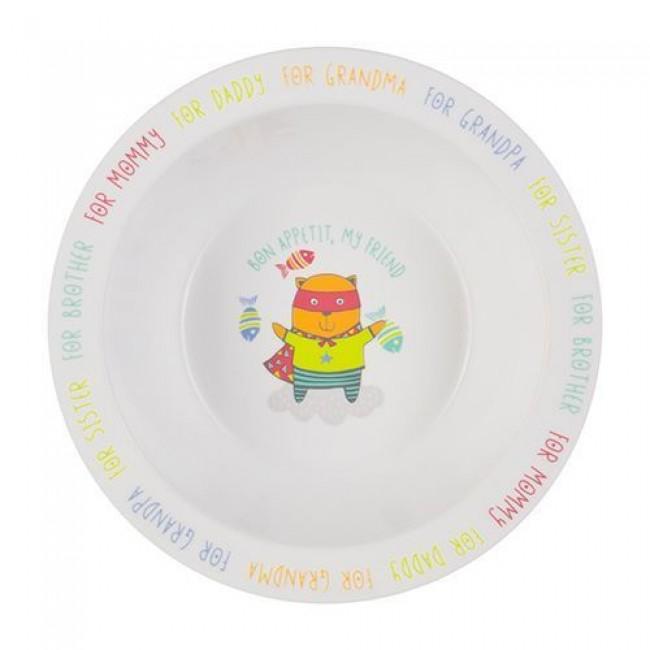 Тарелка HAPPY BABY глубокая FEEBING BOWL