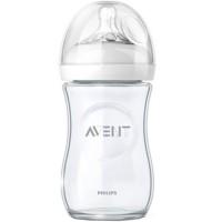 Бутылочка AVENT Natural стекло 240 мл.