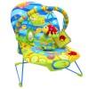 """Шезлонг LA-DI-DA """"Счастливый лягушонок"""", 51х78х59 см, 3 положения спинки, 1 дуга с игрушками"""