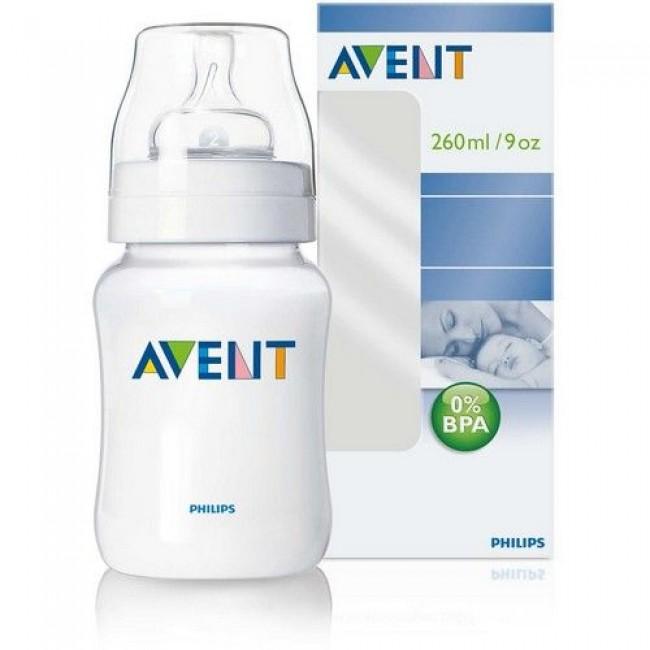 Бутылочка для кормления AVENT PP, 260 мл