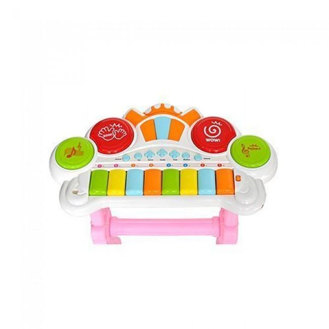 """Игровой центр """"Оркестр"""", детский, музыкальный, розовый, EVERFLO"""