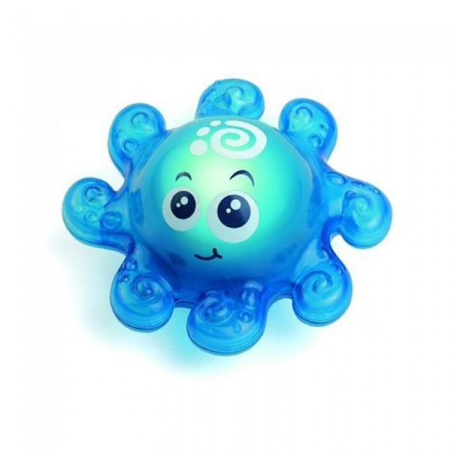 """Игрушка для купания """"Осьминожек"""", свет, HAPPY KID"""