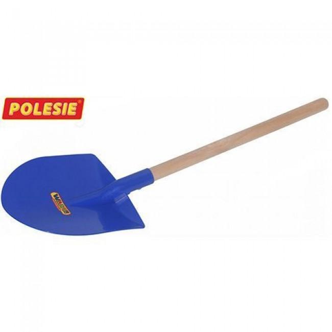 """Игрушка """"Лопата № 36"""" , черенок деревянный, ковш пластмассовый, длина 54,5 см, цвет в асс., ПОЛЕСЬЕ"""