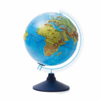 Глобус GLOBEN Ве022500261 Физико-политический рельефный (батарейки) 250