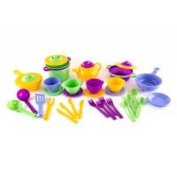 Набор детской посуды ПЛАСТМАСТЕР 22114 Профи