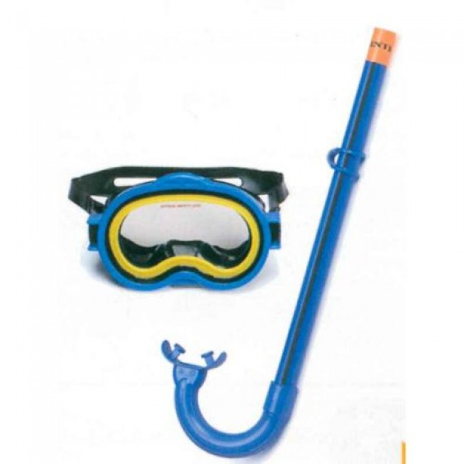 Набор для плавания: маска, трубка, от 8 лет, INTEX