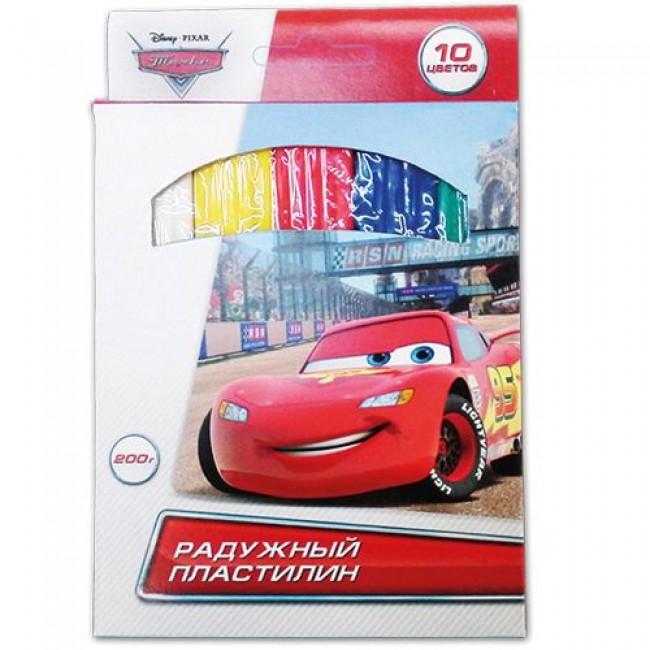"""Пластилин восковой классический """"Тачки"""", 10 цветов, 200 гр, MULTIART"""