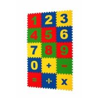Напольная мозаика-пазл ECO COVER 25МПД1/Ц Математика
