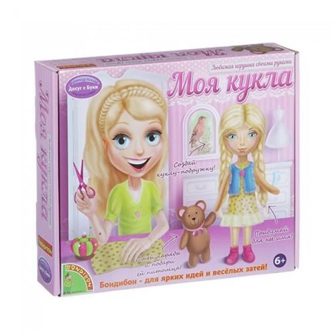 """Набор для детского творчества  """"Любимая игрушка своими руками. Моя кукла"""", блондинка, BONDIBON"""