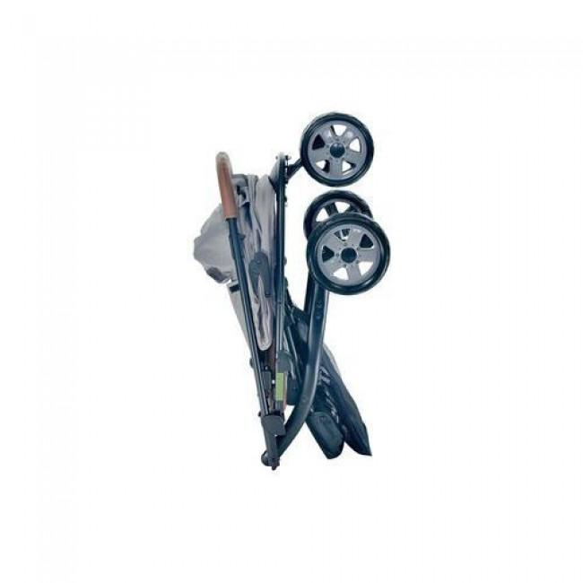 Коляска EVERFLO прогулочная E-450 (стал.рама, 3 полож. спинки, 5 точеч.ремень, съемн.бампер)