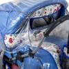 Дождевик на коляску для двойни, КАРАПУЗ (М)