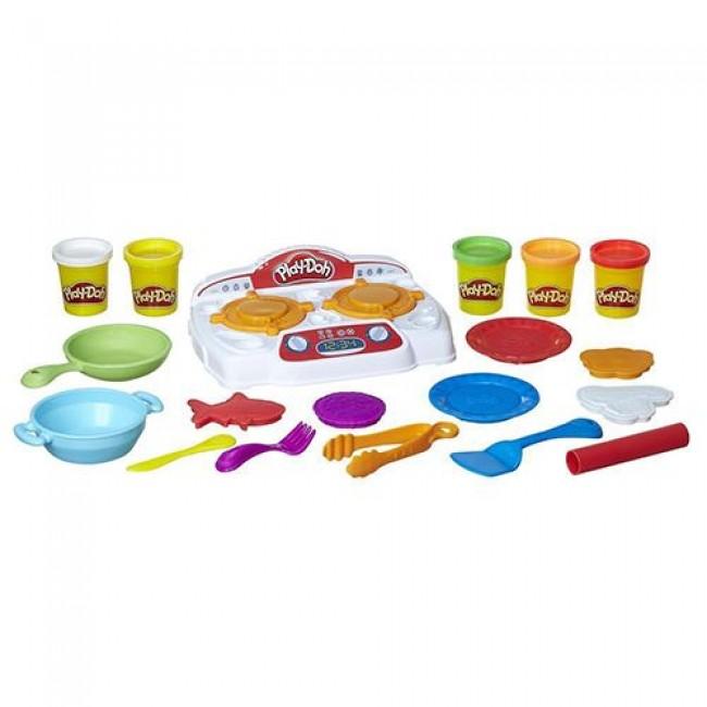 "Набор для детского творчества "" Кухонная плита Play-Doh"", HASBRO"