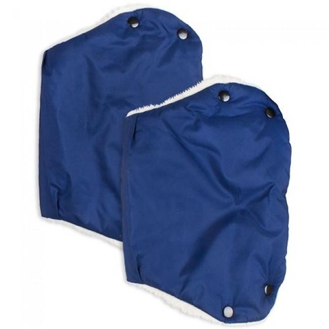 Муфта для рук ЕДУ-ЕДУ раздельная, на коляску, плащевая ткань, мех, синтепон, зима