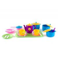 Набор детской посуды ПЛАСТМАСТЕР 21056 Обед