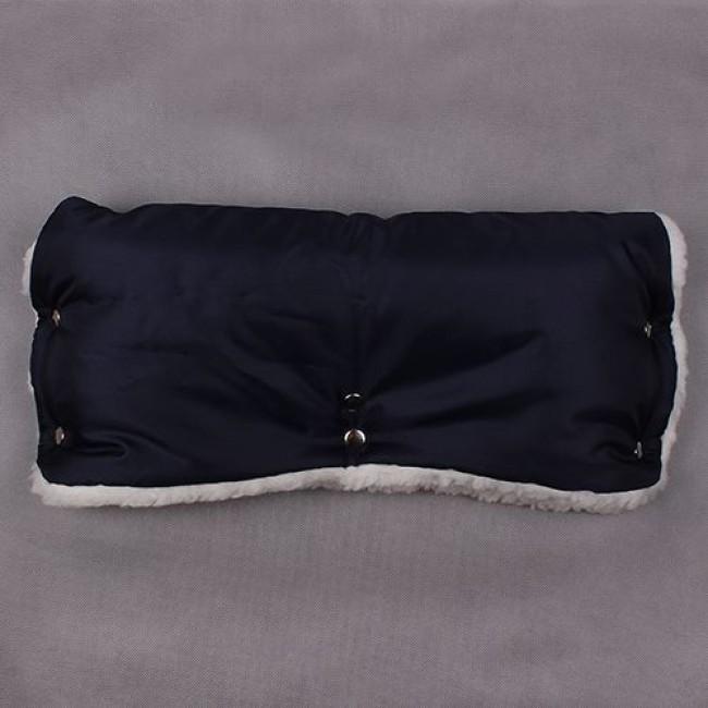 Муфта для рук ЕДУ-ЕДУ, на коляску, плащевая ткань, мех, синтепон, зима