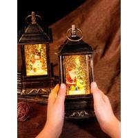 Сувенир новогодний с подсветкой / светильник-ночник в виде фонаря.