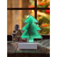 3D ночник Новый год 2021 Новогодние украшения Новогодний декор Новогодние игрушки Гирлянда